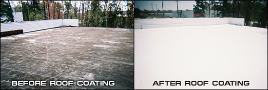Seamless Roof Coatings Stop Roof Leaks